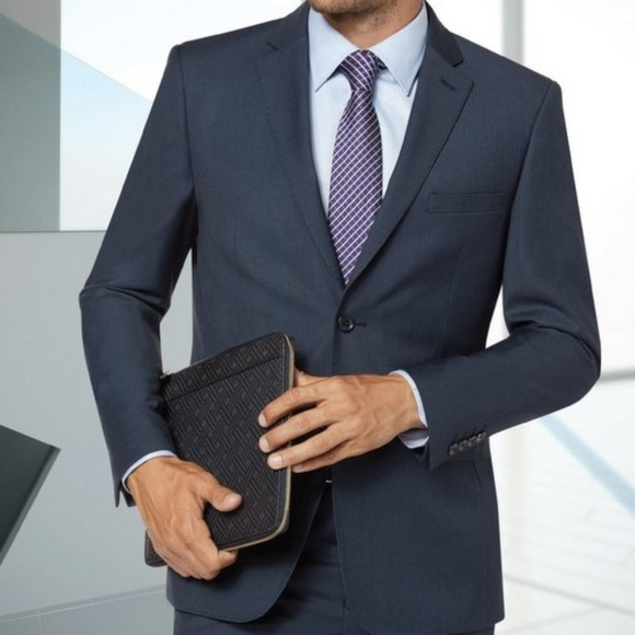 b5ce4568ccab91 Eleganza Platinum Suits & Blazers | Mens 2btn Suit Solid | Poshmark